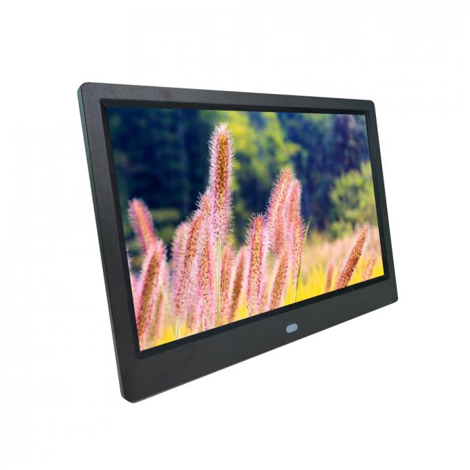 15.4'' LCD Screen 1280x800 LCD Video Brochure USB AVI Black Color Advertising Player