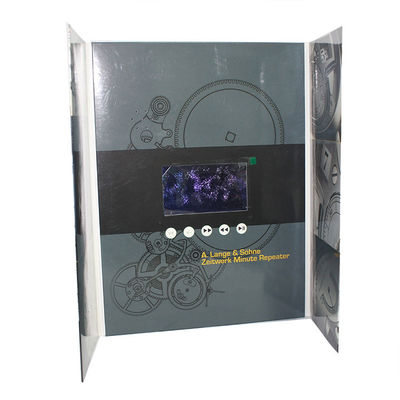 China In Folder Catalog 7 Inch IPS Video Brochure Card supplier