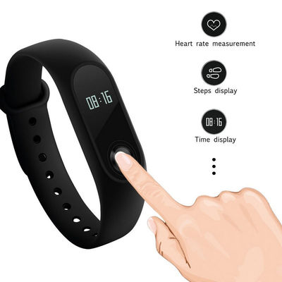 China OLED Smart Bracelet Sport Watch Silica Gel Band For Social Sharing Wechat supplier