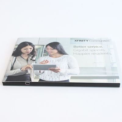 China 7 Inch IPS Advertising 1500mAh LCD Video Brochure supplier