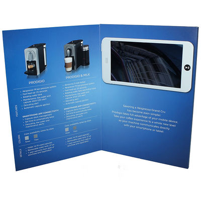 China SZ Video Greeting Card Custom TFT LCD Screen Magnet Switch Touch Buttons supplier