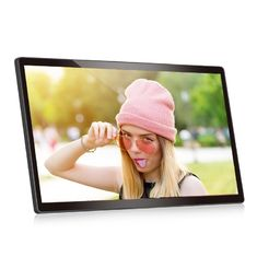 VIF LCD Video Brochure 1280*800 Wall Mounted Android 22 Inch Support Wifi 110v-240V