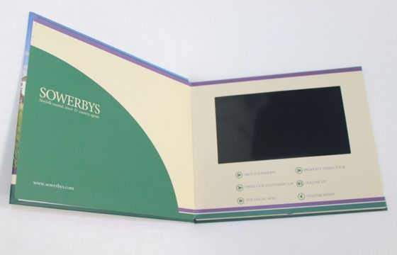China 2 - 8 GB mult - functions paper made LCD Video Brochure for greeting supplier