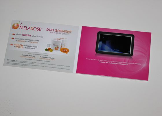 China Touch Screen Video Invitation Card for Personalized Wedding / Event / Conference supplier