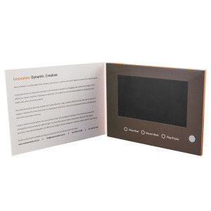 USB port lcd video business cards for opening veremonies , 2.4 inch - 10.1 inch