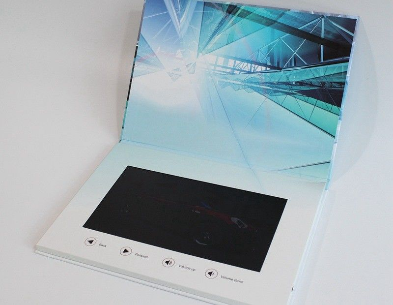 Advertising Lcd Video Mailer Lcd Video Business Cards For Fair Display