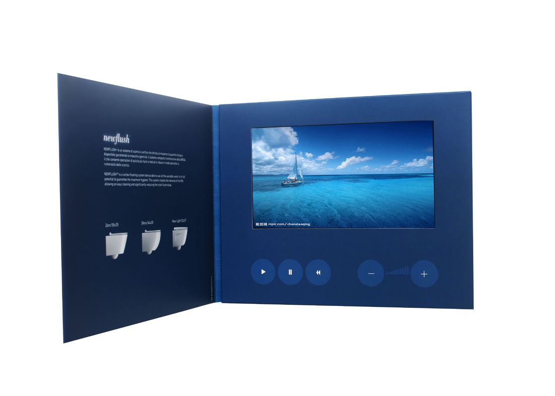 Tft Lcd Video Card For Invitation Promotion Advertising With Touch Screen Option