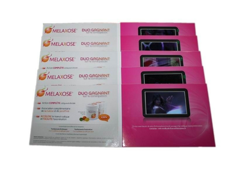 A4 a5 tft lcd video card for business full colors usb video booklet reheart Image collections