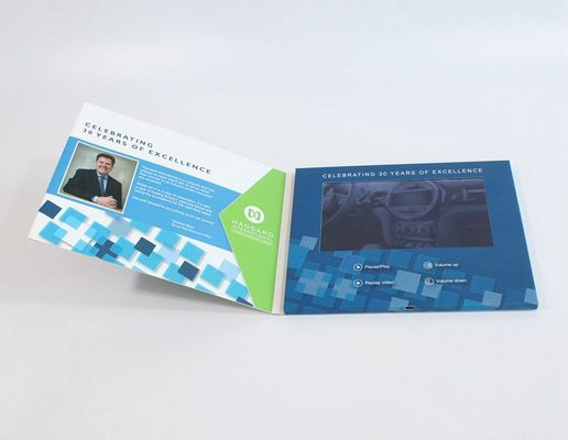 4.3 Inch Video Clothing Card  Video Trading Card For Promotional Events
