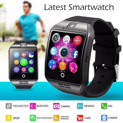 IOS / Android Bluetooth Smart Bracelet Support Facebook Whatsapp With 0.3 Mp Rear Camera