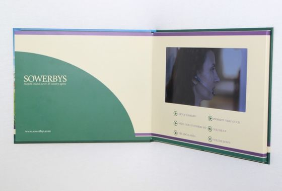China Graduations education digital video brochure with Sound speakers factory