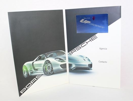 Professional CMYK printing automatic lcd video card for company intruction