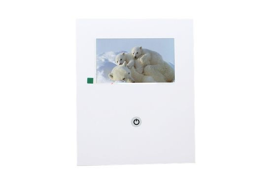 China 7 inch customized advertising LCD Video Mailer , video business brochure factory