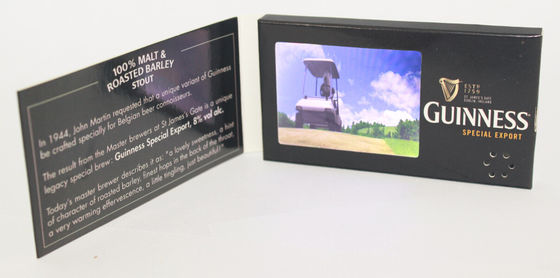 China LCD Screen Video Business Card 2.4'' 320x240 With CE ROHS FCC Certification factory
