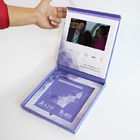 Lcd Screen Video Folder Video Greeting Cards Folder In Print Brochure CMYK 4 Color